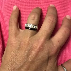 Jewelry - 925 silver baguette ring